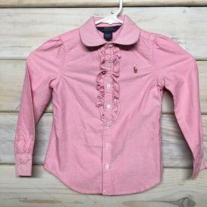 Polo Ralph Lauren Girls Riding Shirt